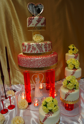 Cake Art Exhibit : Sugar bliss wedding exhibition