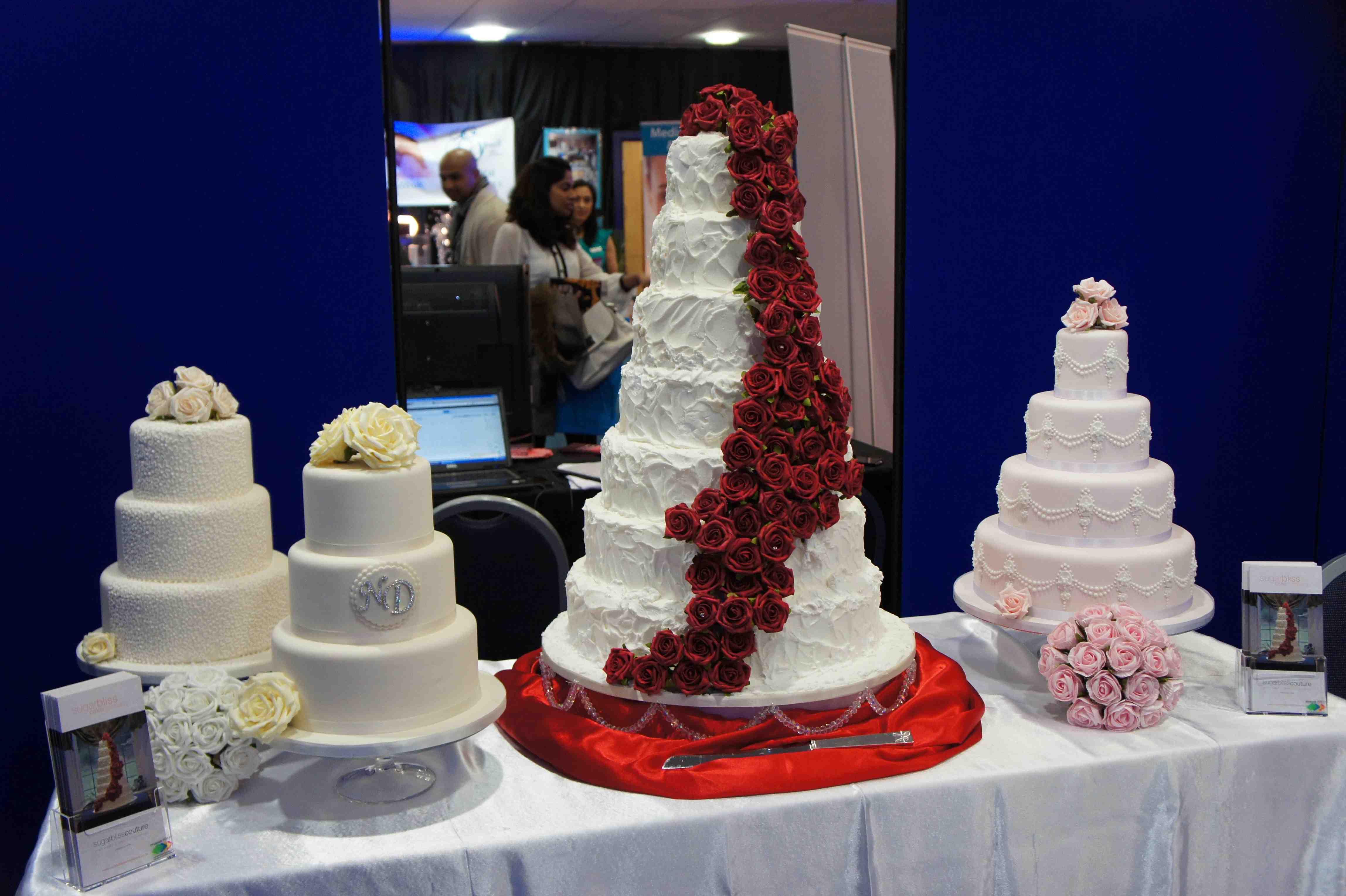 Wedding Cake Exhibition Sugarbliss Cake Company