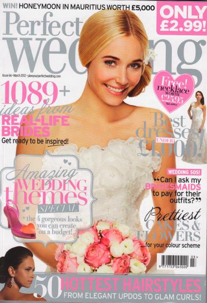 perfect wedding magazine uk subscription