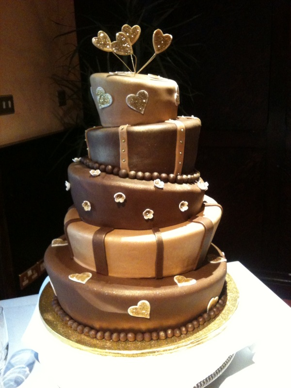 Dark Chocolate Mud Cake Wedding