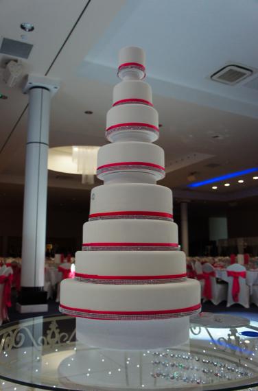 rose-11-tier-wedding-cake