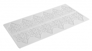 lace-silicone-mat-wedding-cake-design