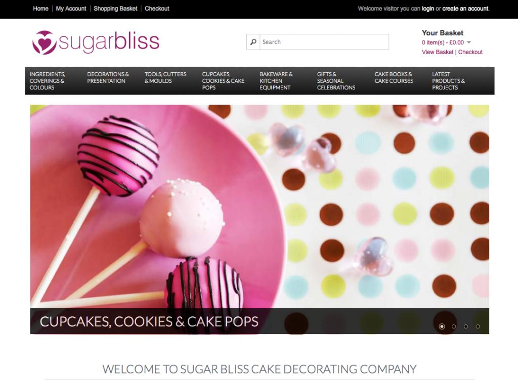 Cake Decorating Supplies Online Uk