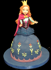 anna-princess-cake-frozen