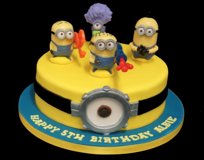 Minion Birthday Cake Sugarbliss Cake Company