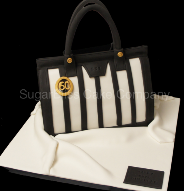 black-white-handbag-cake