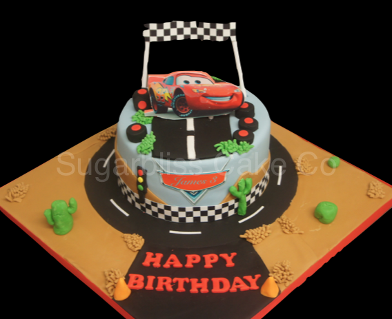 lightening-mcqueen-birthday-cake