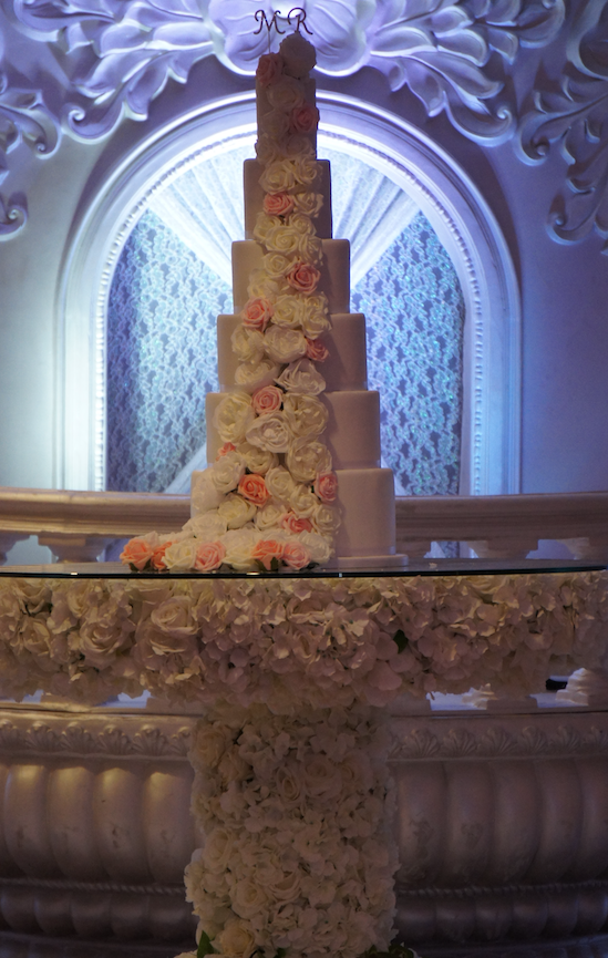 6 tier wedding cakes by sugarbliss