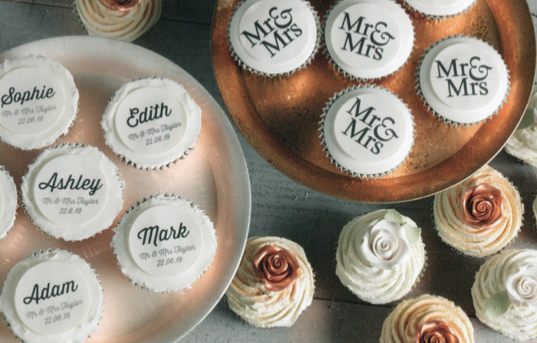 personalised wedding cake toppers favours