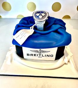 breitling-watch-birthday-cake