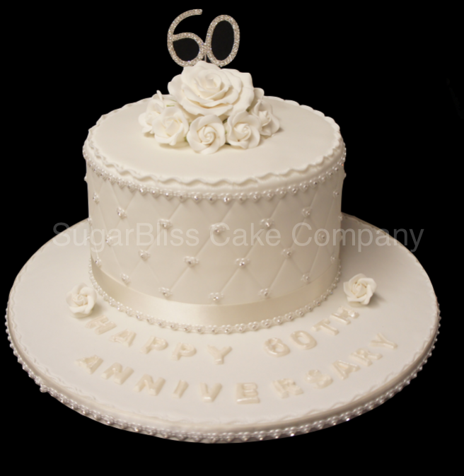 Cake Designs For Diamond Wedding : Cakes for Her Cake Pictures Cake Gallery
