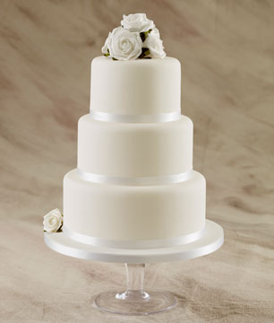 Simple Wedding Cakes  Affordable Wedding Cakes  by Sugarbliss