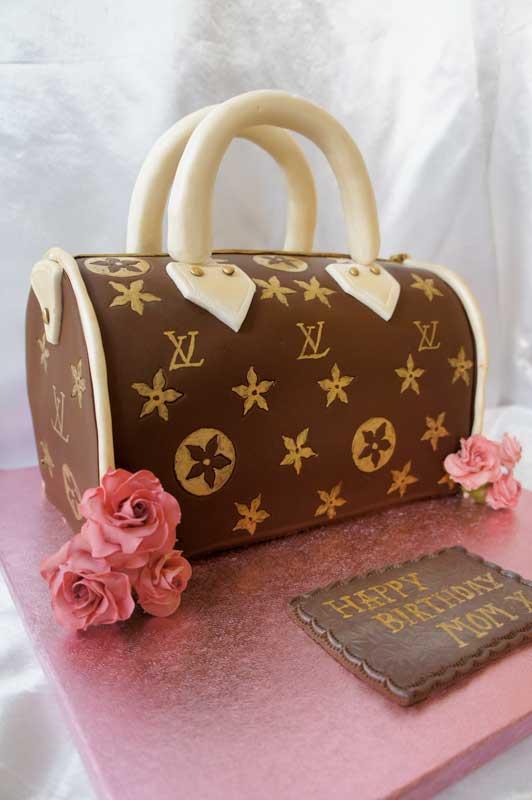 торты женская сумочка фото
