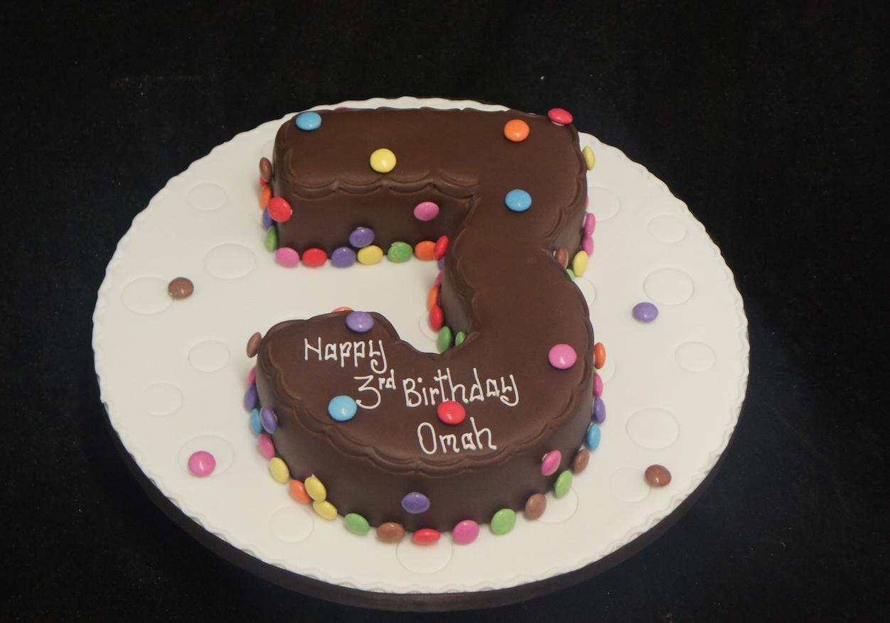 Cupcake Number  Cake
